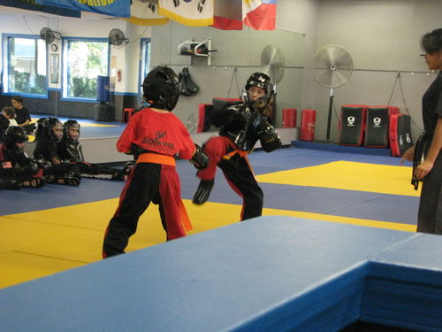 T sparring