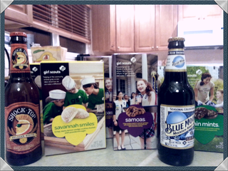 Beer and cookies