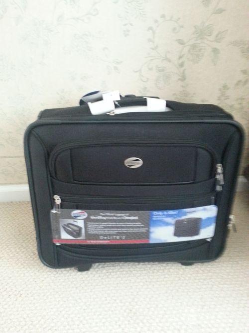June suitcase