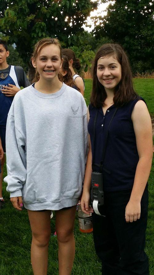 Both girls september