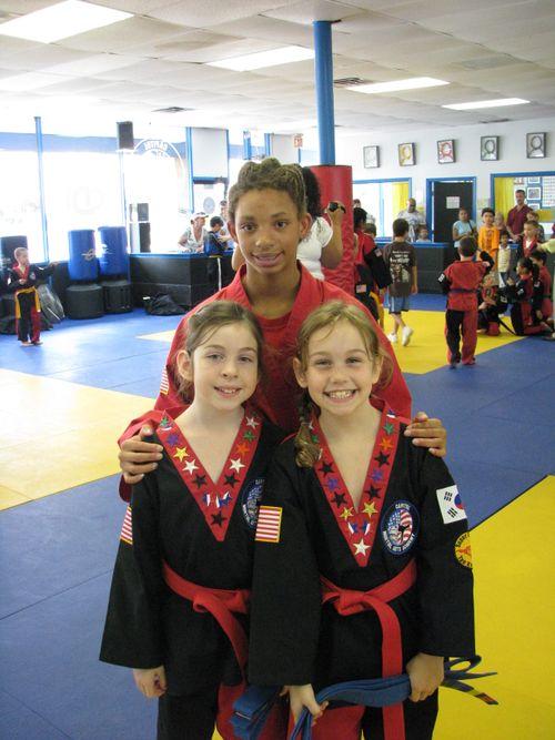 August 1 - Thea, Tatiana and Georgie