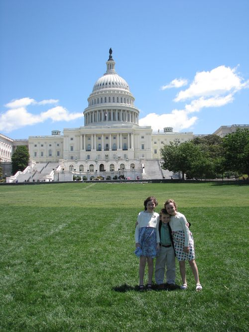 The Capitol Building!